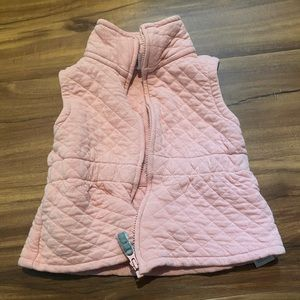 Carter's Quilted Pink Vest